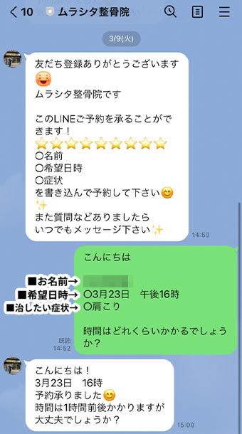 LINE例